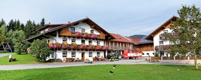 Urlaub auf dem Bauernhof im Bayerischen Wald